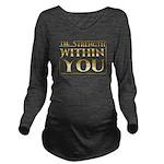 TSWY Horizontal Long Sleeve Maternity T-Shirt