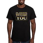 TSWY Horizontal Men's Fitted T-Shirt (dark)