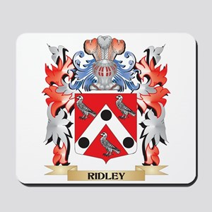 Ridley Coat of Arms - Family Crest Mousepad