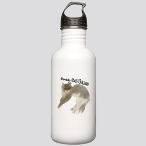 Crazy Cat Person Stainless Water Bottle 1.0L