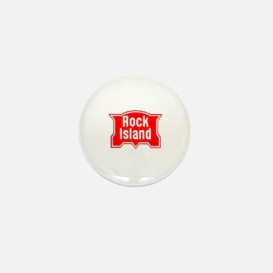 Unique Rock stations Mini Button