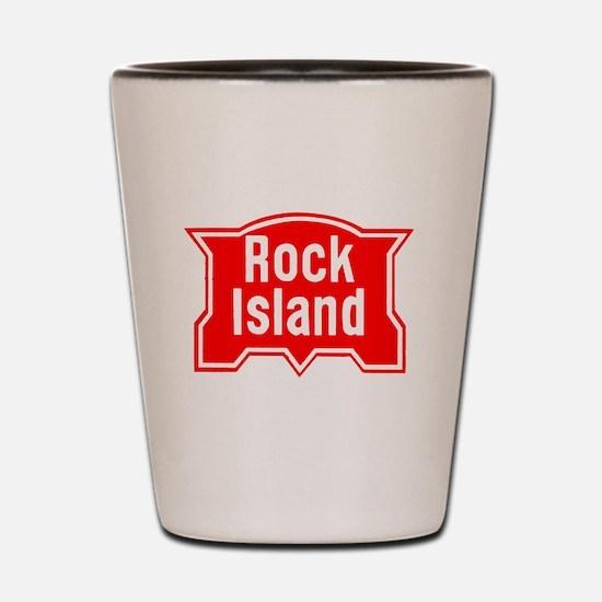 Funny Rock stations Shot Glass