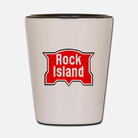 Cool Rock stations Shot Glass
