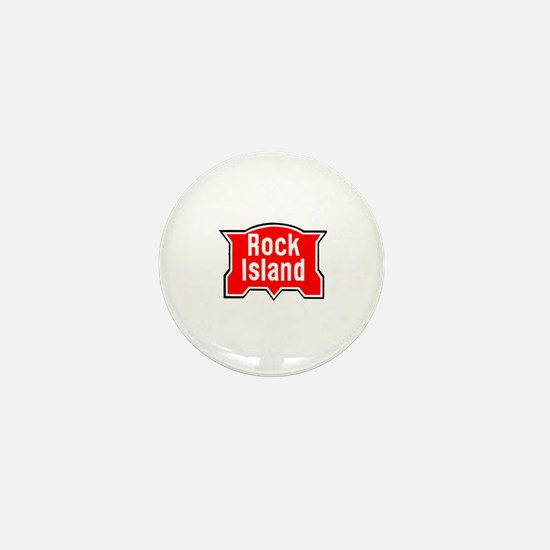 Funny Rock stations Mini Button