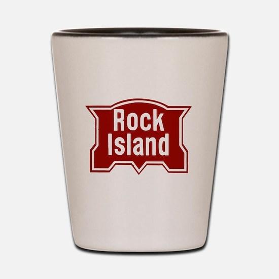 Cute Rock stations Shot Glass