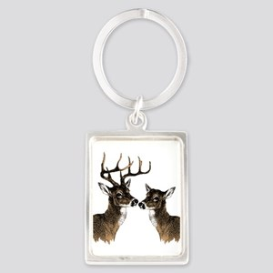 Buck and Doe Keychains
