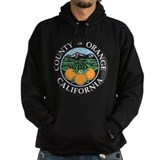 Orange county Dark Hoodies
