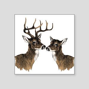 Buck and Doe Sticker