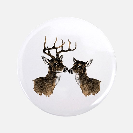 """Buck and Doe 3.5"""" Button"""