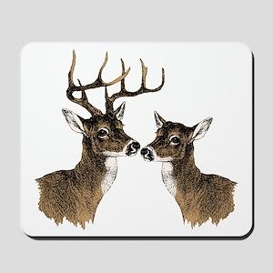 Buck and Doe Mousepad