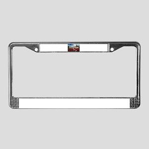 Tuscany living License Plate Frame