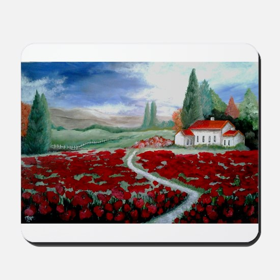 Tuscany living Mousepad