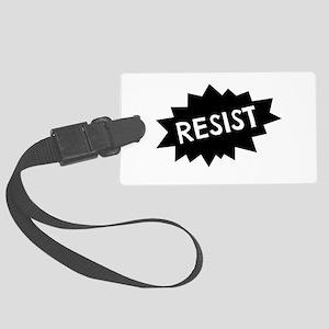 Resist Large Luggage Tag