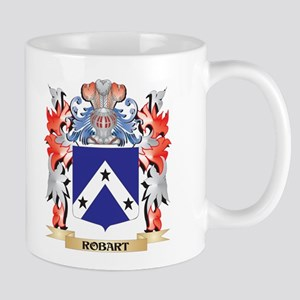 Robart Coat of Arms - Family Crest Mugs