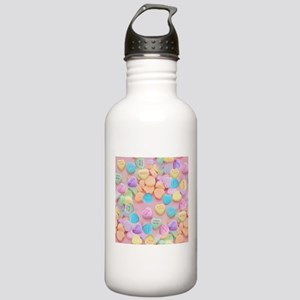 valentines candy heart Stainless Water Bottle 1.0L