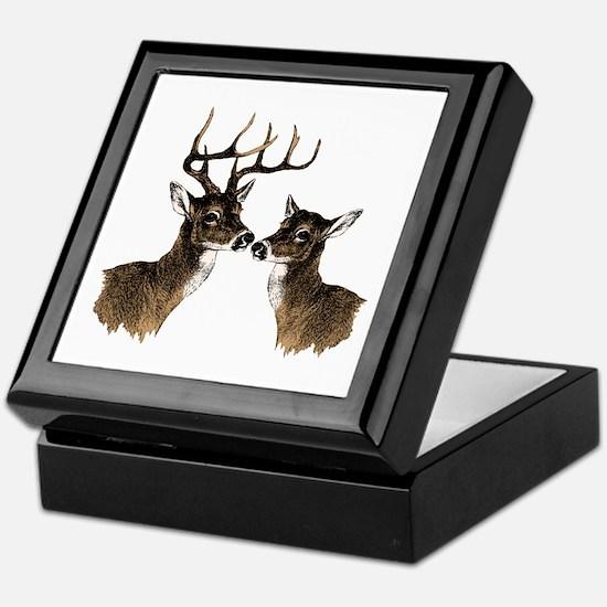 Buck and Doe Keepsake Box
