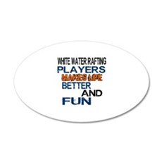 White Water Rafting Players Wall Decal