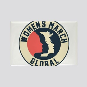 women march 2018 Magnets