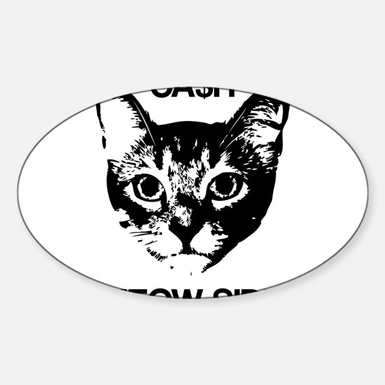 CASH MEOW SIDE Decal