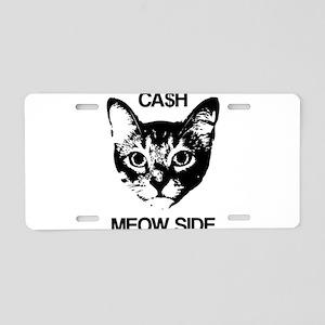 CASH MEOW SIDE Aluminum License Plate
