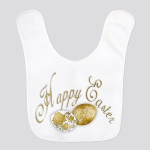Happy Easter Eggs Extended - 6 Polyester Baby Bib