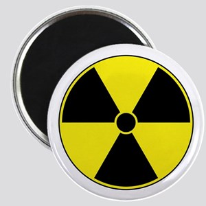 Radiation Symbol (yellow) Magnet