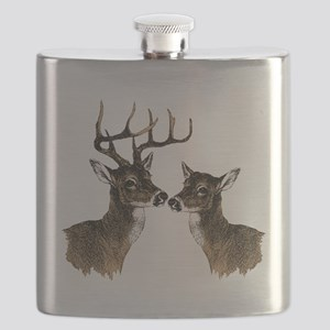 Buck and Doe Flask