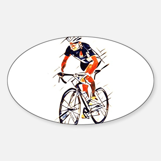 Cyclist Decal