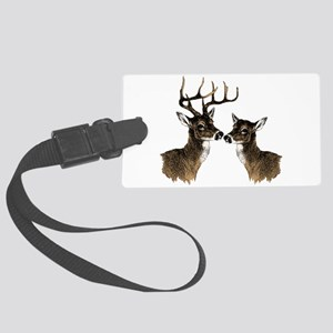 Buck and Doe Luggage Tag