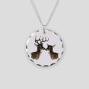 Buck and Doe Necklace