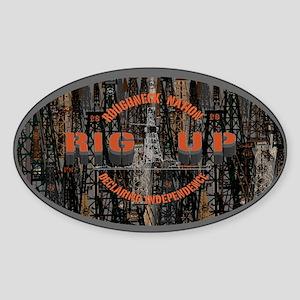 RIG UP CAMO Oilfield Sticker