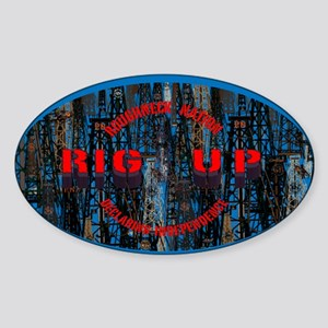 RIG UP CAMO Oilfield Sticker