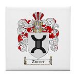 Turner Coat of Arms Tile Coaster