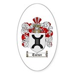 Turner Coat of Arms Oval Sticker