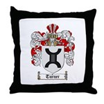 Turner Coat of Arms Throw Pillow