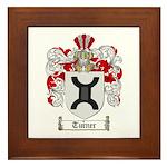 Turner Coat of Arms Framed Tile