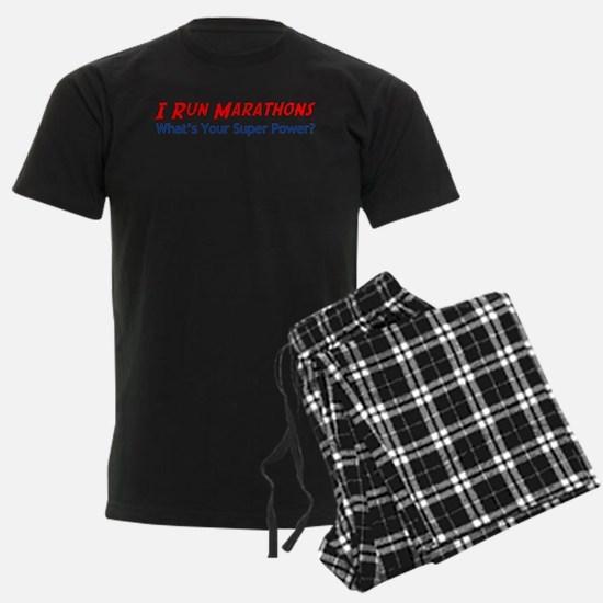 I Run Marathons Pajamas