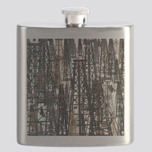 RIG UP CAMO Flask