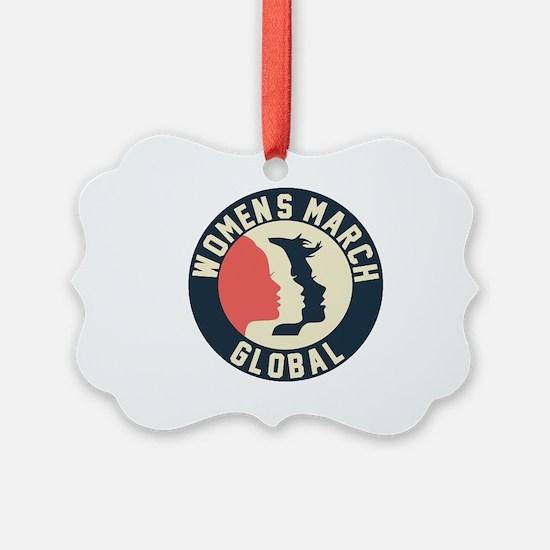 women march 2018 Ornament