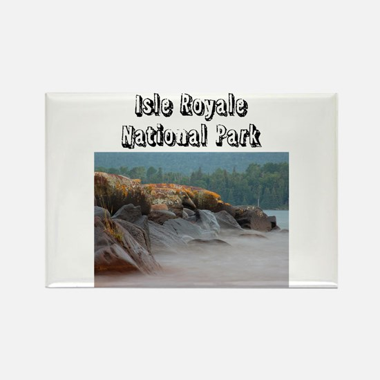 Isle Royale National Park Rectangle Magnet Magnets
