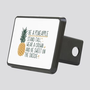 Be A Pineapple Rectangular Hitch Cover