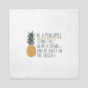 Be A Pineapple Queen Duvet