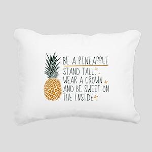 Be A Pineapple Rectangular Canvas Pillow