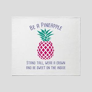 Be A Pineapple Stadium Blanket