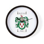 Todd Coat of Arms Wall Clock