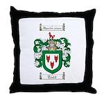 Todd Coat of Arms Throw Pillow