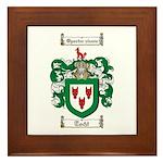 Todd Coat of Arms Framed Tile