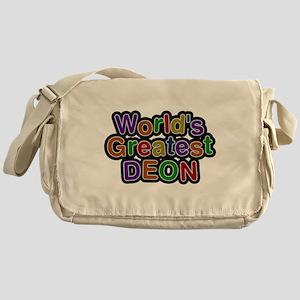 Worlds Greatest Deon Messenger Bag