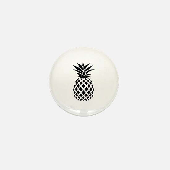 Pineapple Mini Button