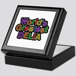 World's Greatest Delia Keepsake Box